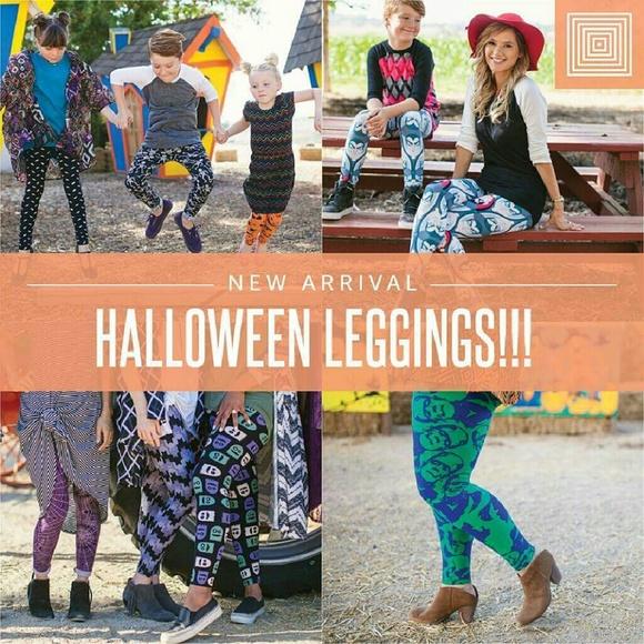revised 2016 preview halloween lularoe leggings