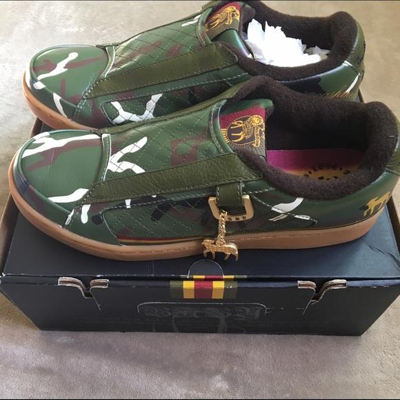 c2a0210b9477 New in Box L.A.M.B. Gwen Stefani camo sneakers 8.5