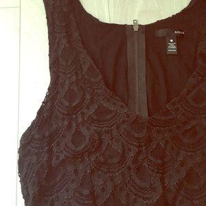 DONATED - Black Lace Dress