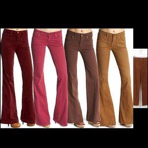 Angels Pants - Nice corduroy brown wide bottom pants 7