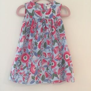 Angel Dear Other - Floral Cotton Baby Dress by Angel Dear