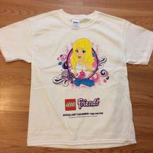 Lego Tops - Friends Official Lego Club Shirt