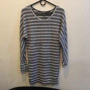 Ecote Sweaters - 🌈🌈 SALE Ecote Grey Long Sweater Tunic Top 🌈🌈