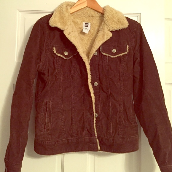 Gap Jackets Coats Corduroy Sherpa Lined Jacket Poshmark