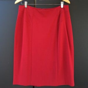 NWOT Red Chico Pencil Skirt