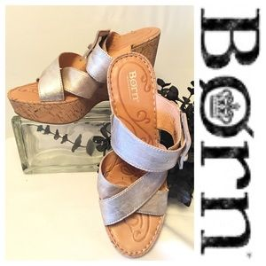 Born Beau Sandal Wedges