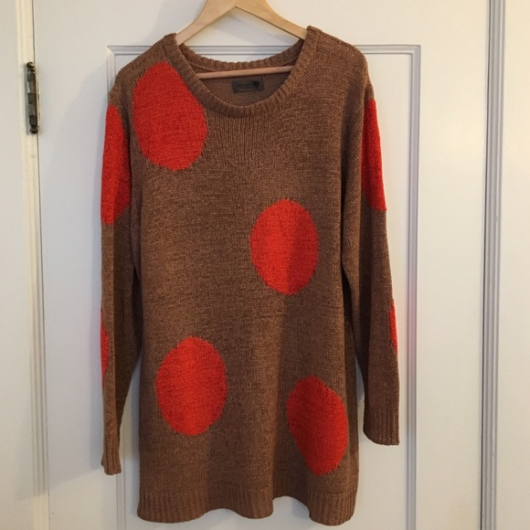 Numph Sweaters - Oversized Spotted Sweater