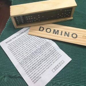 Other - Wood Domino Set
