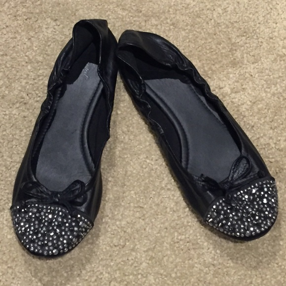 46 wanted shoes wanted sparkling black flats from