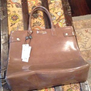 Alberta Di Canio  Handbags - Alberto Di Canio, 🇮🇹Italian leather, Lg 👜 NWT