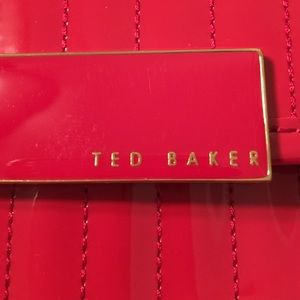 800f9e333dcf Ted Baker London Bags - Ted Baker Enamel Flap Pocket Tote Bag Red
