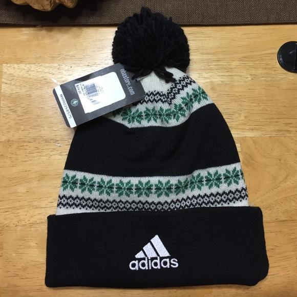 b703e2ba6f6 Boston Celtics Adidas knit hat!