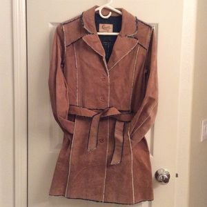 Scully Jackets & Blazers - Scully long leather jacket