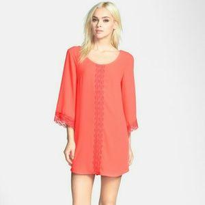 astr Dresses & Skirts - ✨HP✨ ASTR lace trim shift dress NWOT