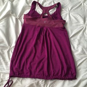 Old Navy Strappy Purple Workout Tank