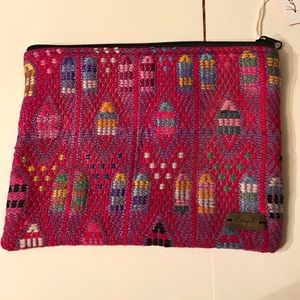 Ketzali Handbags - Recycled Textile Make-Up Bag
