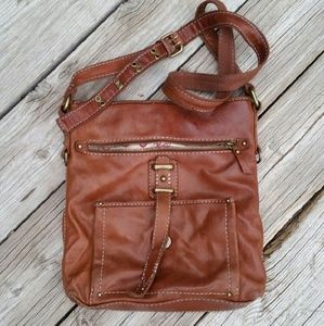 Lucky Brand Brown Leather Crossbody