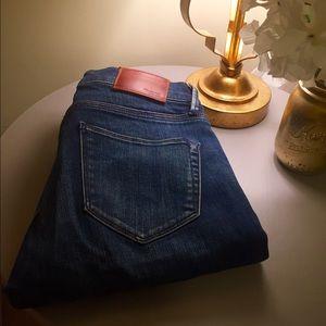 Madewell Zipper Skinny Jeans