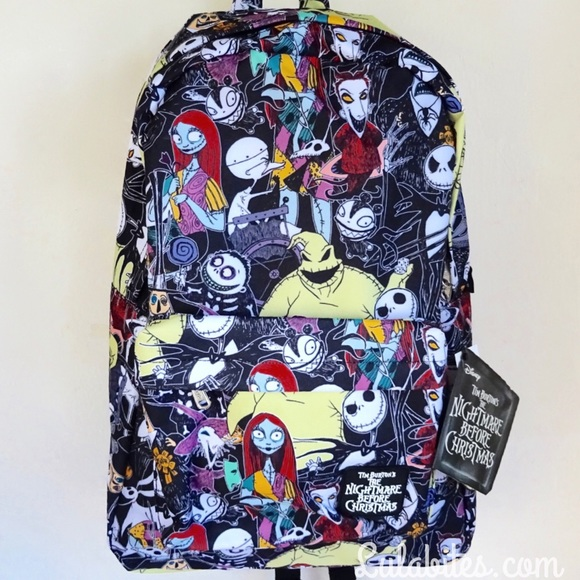 14% off Disney Handbags - Nightmare Before Christmas Backpack from ...