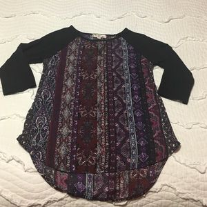 Hippie Rose Tops - Hippie rose top