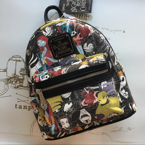 20% off Disney Handbags - Nightmare Before Christmas Mini Backpack ...