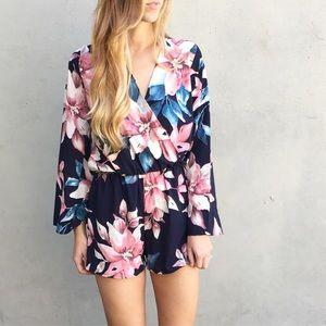 Dresses & Skirts - RESTOCKED | new | floral romper