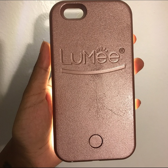 finest selection 937c7 83f5e Lumee case iPhone 6 Rose Gold (used)