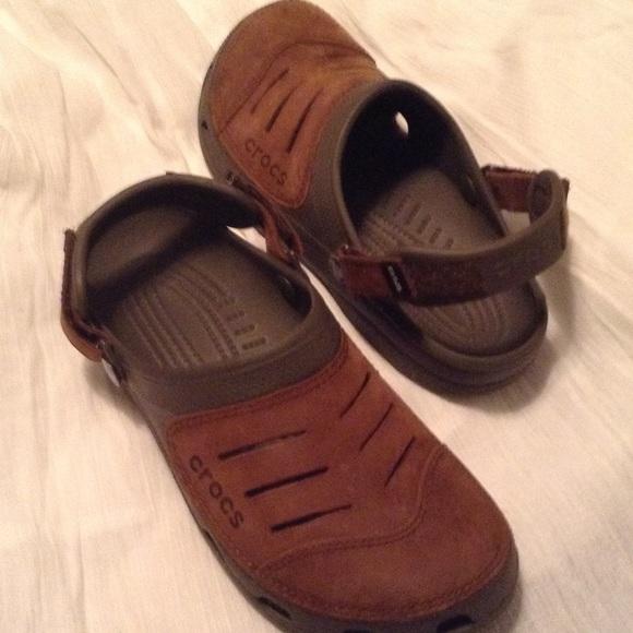 bad452102 CROCS Shoes - Original Crocs color brown