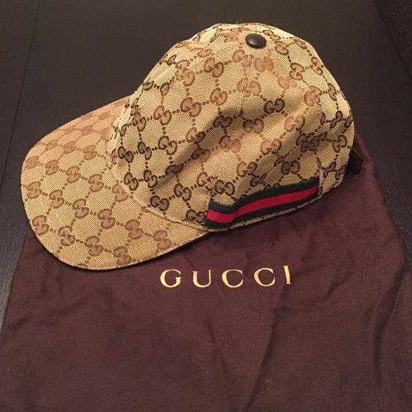be40523023c Gucci Accessories - Gucci Original GG Canvas baseball hat