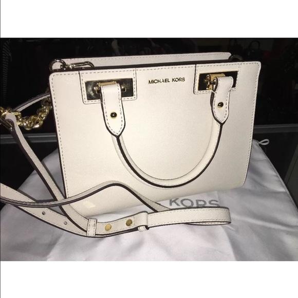 ea92cc33df6a Michael kors Quinn small saffiano leather satchel