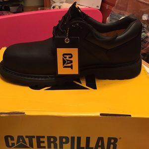 CAT P89703 Ridgemont Steel Toe Oxford Work shoes