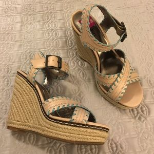 Reba Shoes - Reba cute platform wedges