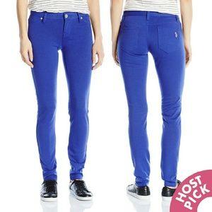 U.S. Polo Assn. Pants - Royal Blue Super Stretch Ponte Skinnies NWT