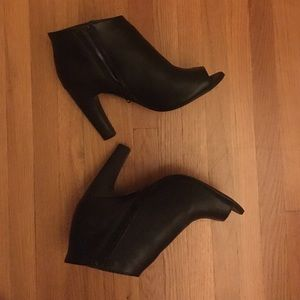 Shoes - Peep toe booties