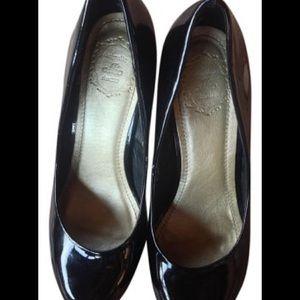 Ollio Shoes - Black Platform Pumps