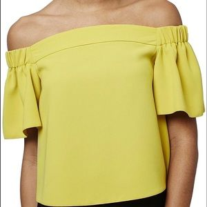 Topshop Off Shoulder Top