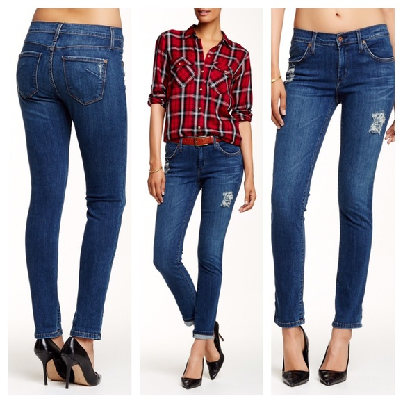 choose latest so cheap huge sale James Jeans Neo Beau Slim Boyfriend Jean Cabana 28 NWT