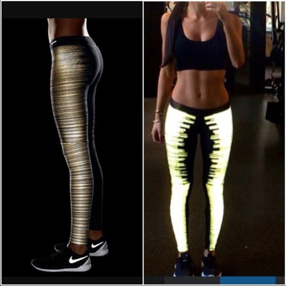 nike legging gold