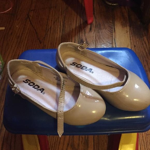 Soda Shoes | Toddler Girls Nude Dress