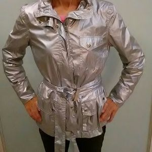 Host Pick, Ralph Lauren silver jacket.