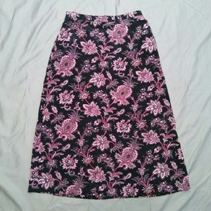 Napa Valley Petites Dresses & Skirts - NAPA Valley Flowered Skirt
