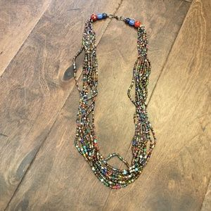Jewelry - Beaded multicolor necklace