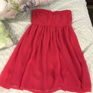 Dresses & Skirts - Pretty strapless dress size small on hold