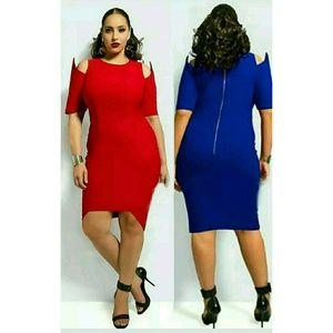 RED Monif C Eden Dress size 1X, 14/16