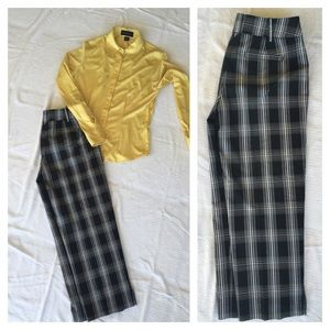 WHBM crop dress pants