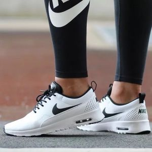 Nike Air Max Thea Kvinners Svart Og Hvit Rutete Skjorte vySWh9dXK