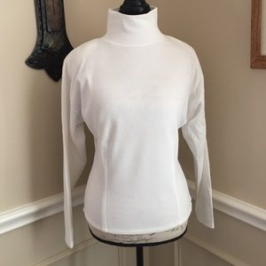 NWOT Express White Cowl Neck Top