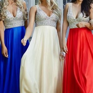 🎀Royal Blue Jovani Prom Dress🎀
