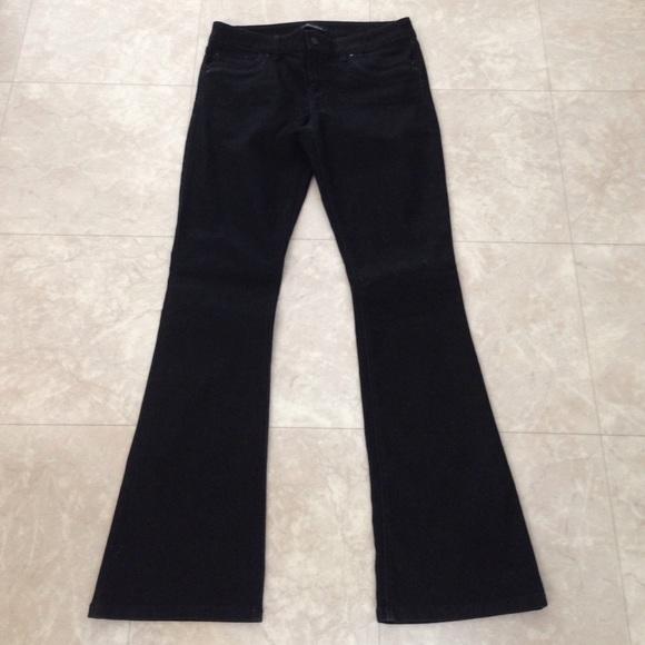 White House Black Market - WHBM Black Skinny Flare Jeans 10R from ...