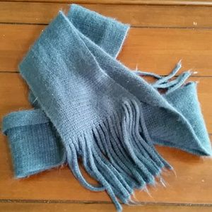 none Accessories - Teal scarf
